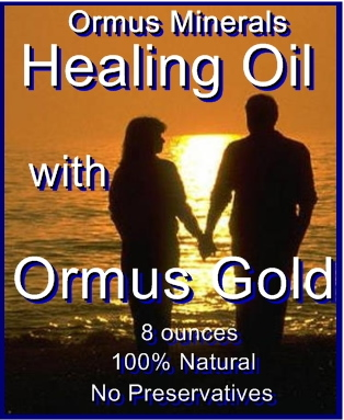 Ormus Minerals -Healing Oil with Ormus Gold